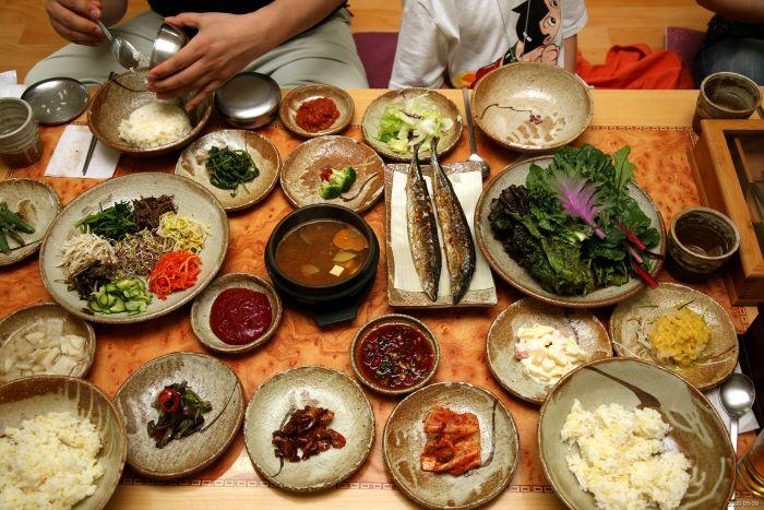 teach english in korea - korean food