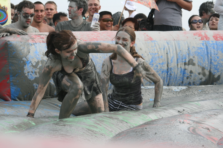 Mud Festival for ESL Teachers in Korea (and anyone else who wants to get dirty)