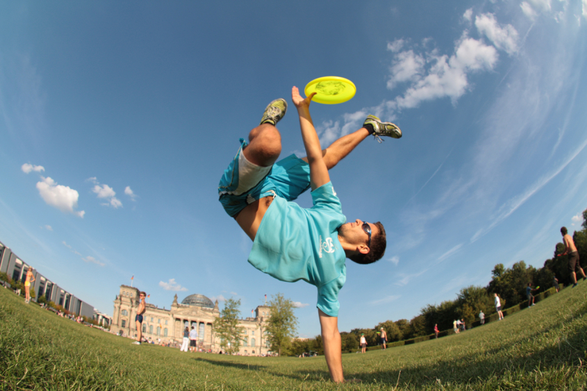 Ultimate Frisbee Leagues in Korea