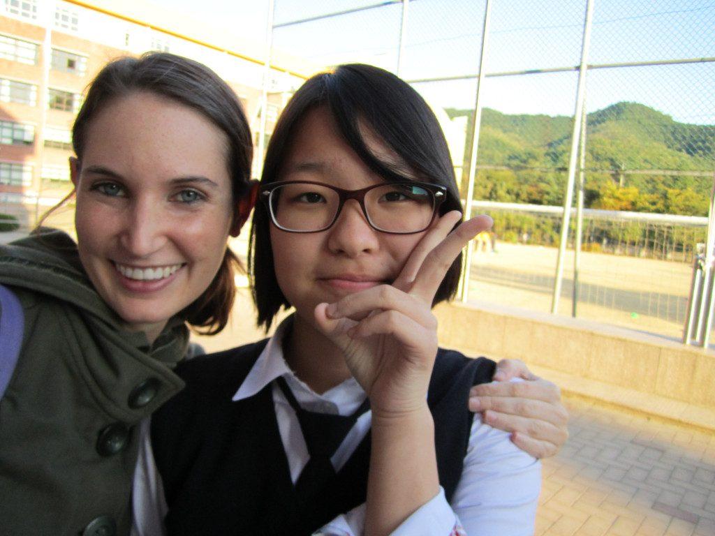 an english teacher in South Korea