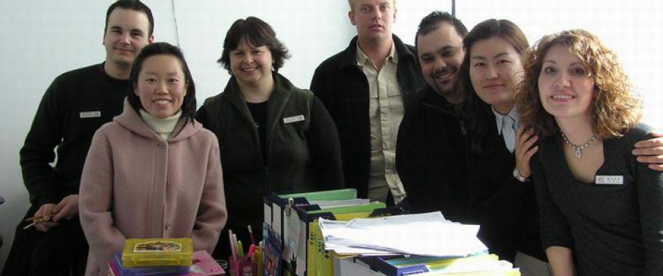 co teachers in Korea