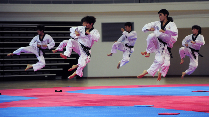 Taekwondo in Korea