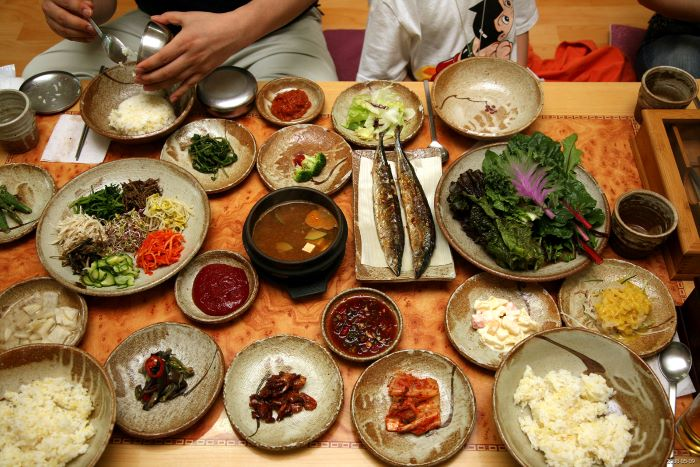 teach english in korea - korean food