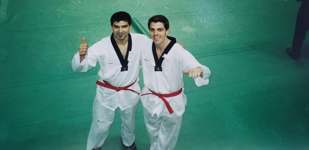 taekwondo in Korea -Travel and Teach