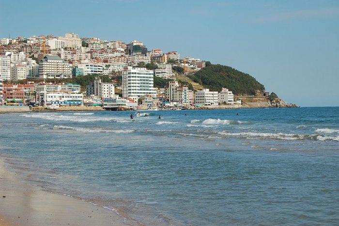 Teach English in Busan (Haeundae Beach)